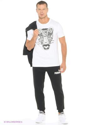 Брюки ESS No.1 Sweat Pants, FL, cl Puma. Цвет: черный