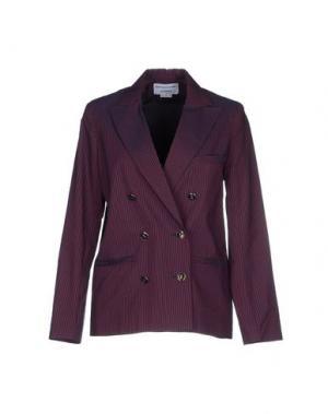 Пиджак LES PRAIRIES DE PARIS. Цвет: красно-коричневый