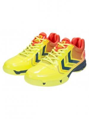 Кроссовки CELESTIAL COURT X7 HUMMEL. Цвет: желтый, красный