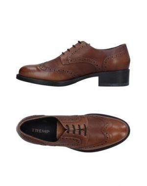 Обувь на шнурках TREMP. Цвет: хаки