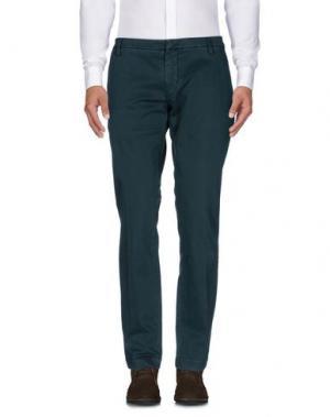 Повседневные брюки MASSIMO BRUNELLI. Цвет: темно-зеленый