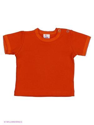 Футболка PEPELINO. Цвет: оранжевый