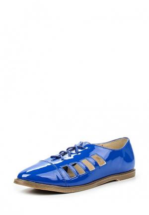 Ботинки Anesia. Цвет: синий