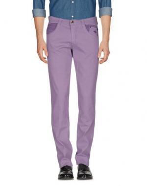 Повседневные брюки CARLO CHIONNA. Цвет: сиреневый