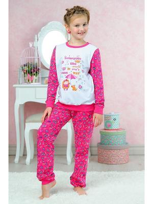 Пижама KitFox. Цвет: розовый