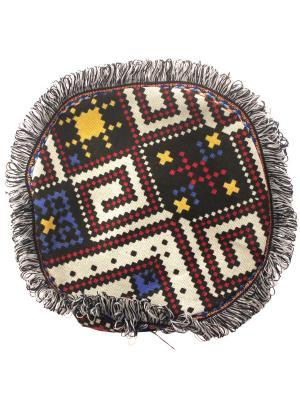 Сумка Этнический узор Tina Bolotina. Цвет: черный, белый, красный