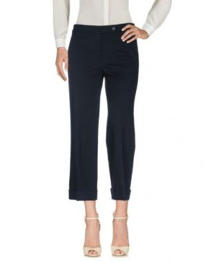 Повседневные брюки STEFANEL. Цвет: темно-синий