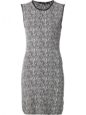 Эластичное платье без рукавов Tess Giberson. Цвет: чёрный