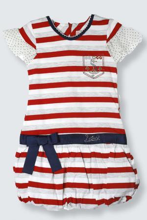 Платье Lilax Baby. Цвет: красный