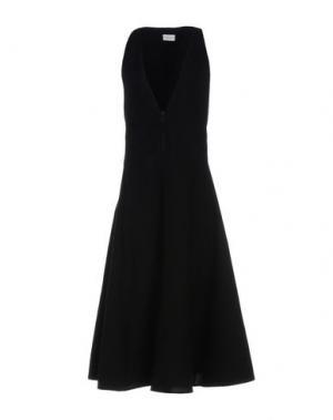 Длинное платье LEMAIRE. Цвет: черный