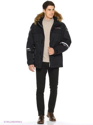 Куртка FERGO. Цвет: черный