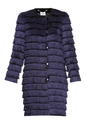 Летнее пальто  160516 Y.amelina. Цвет: фиолетовый