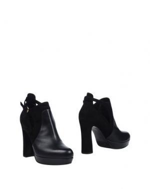 Ботинки LELLA BALDI. Цвет: черный