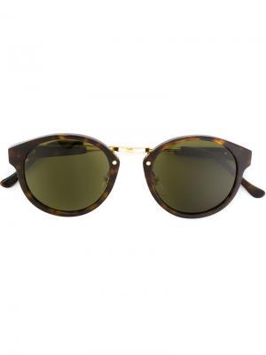 Солнцезащитные очки Retrosuperfuture. Цвет: коричневый