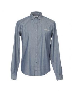 Pубашка BARBATI. Цвет: синий