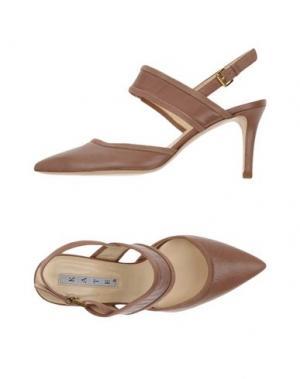 Туфли KATE. Цвет: светло-коричневый
