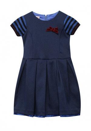 Платье Brums. Цвет: синий