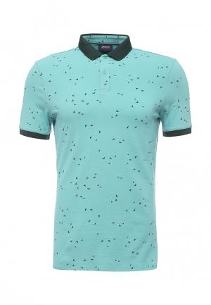 Поло Armani Jeans. Цвет: зеленый