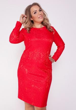 Платье Eliseeva Olesya. Цвет: красный