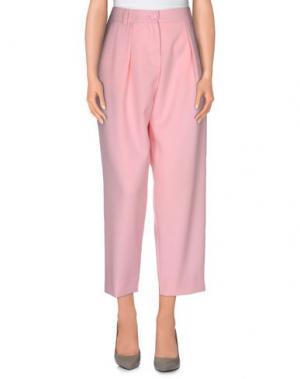 Повседневные брюки AM. Цвет: розовый