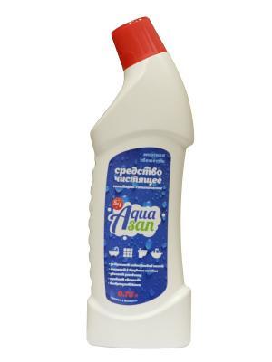 Средство 5 в 1 чистящее санитарно-гигиеническое для удаления ржавчины Морская свежесть 750мл AQUASAN. Цвет: прозрачный