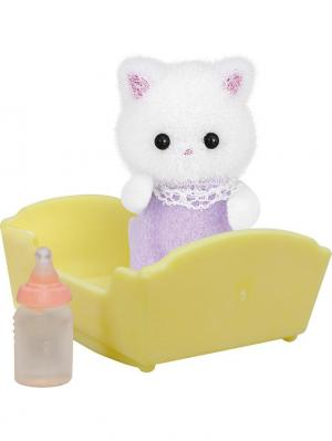Набор Малыш Персидский Котёнок Sylvanian Families. Цвет: бежевый