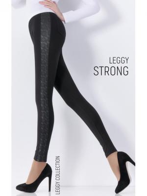 Леггинсы, модель LEGGY STRONG 11 Giulia. Цвет: черный