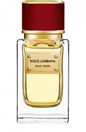 Парфюмерная вода Velvet Collection Desire Dolce & Gabbana. Цвет: бесцветный