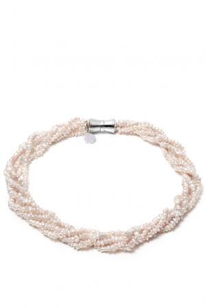 Ожерелье 181711 Nasonpearl. Цвет: белый