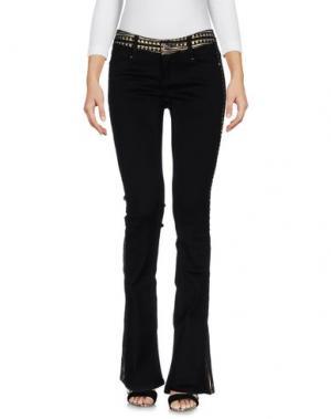 Джинсовые брюки CUSTO BARCELONA. Цвет: черный