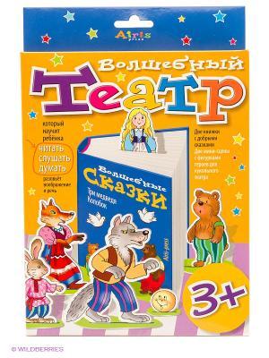 Волшебный театр. Колобок. Три медведя АЙРИС-пресс. Цвет: оранжевый, синий