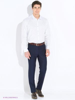 Рубашка BAWER. Цвет: белый