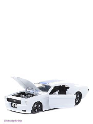 Модель автомобиля MUSTANG GT 2006 1:24 Jada. Цвет: белый