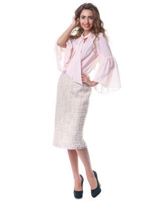 Блузка OKS by Oksana Demchenko. Цвет: персиковый