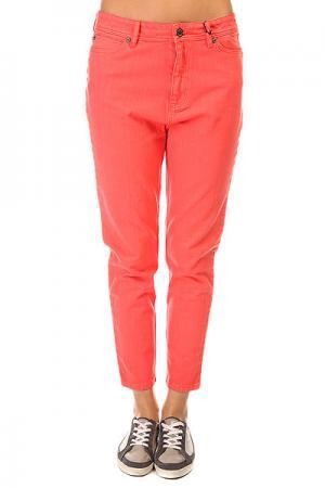 Джинсы прямые женские  Huntress Jeans Coral Insight. Цвет: розовый