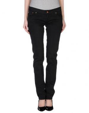 Повседневные брюки ENTRE AMIS. Цвет: стальной серый