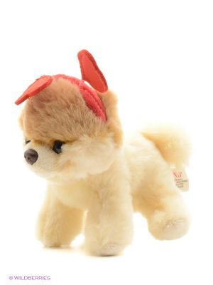 Игрушка мягкая (Itty Bitty Boo Hearts Headband, 12,5 см). Gund. Цвет: бежевый