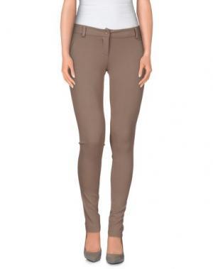 Повседневные брюки H²O LUXURY. Цвет: хаки