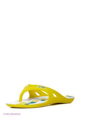 Пантолеты Rider. Цвет: желтый