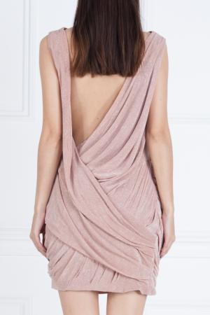 Однотонное платье Jay Ahr. Цвет: розовый