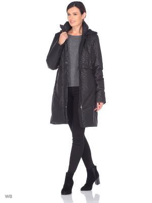 Пальто EEVI Maritta. Цвет: черный
