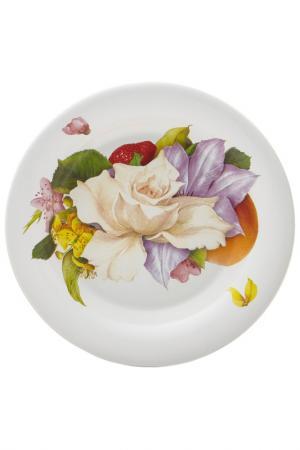 Тарелка суповая Фреско 24 см Ceramiche Viva. Цвет: мультиколор