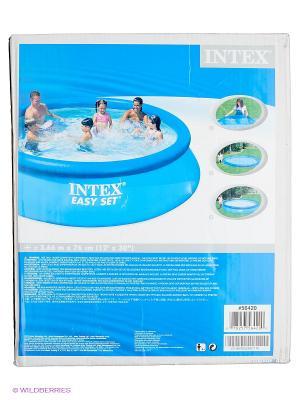 Бассейн изи сет 366на76см Intex. Цвет: синий
