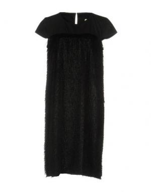 Платье до колена LA FABRIQUE. Цвет: черный