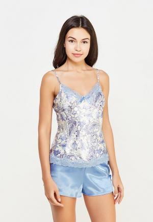 Пижама Mia-Amore. Цвет: голубой