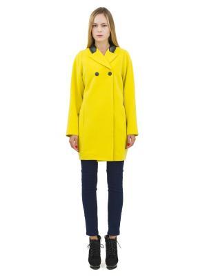 Пальто DOCTOR E. Цвет: желтый