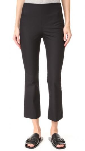 Расклешенные брюки Ernestina B Theory. Цвет: голубой