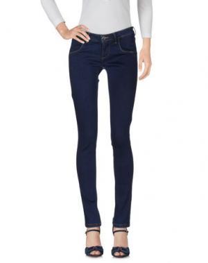 Джинсовые брюки ANNIE P.. Цвет: синий