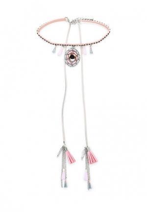 Чокер Kameo-Bis. Цвет: розовый