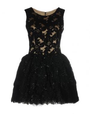 Короткое платье LOYD/FORD. Цвет: черный